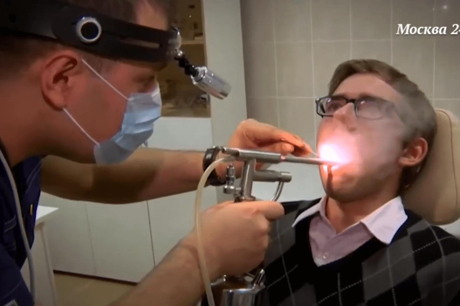 Криотерапия небных миндалин в ЛОР клинике в Москве