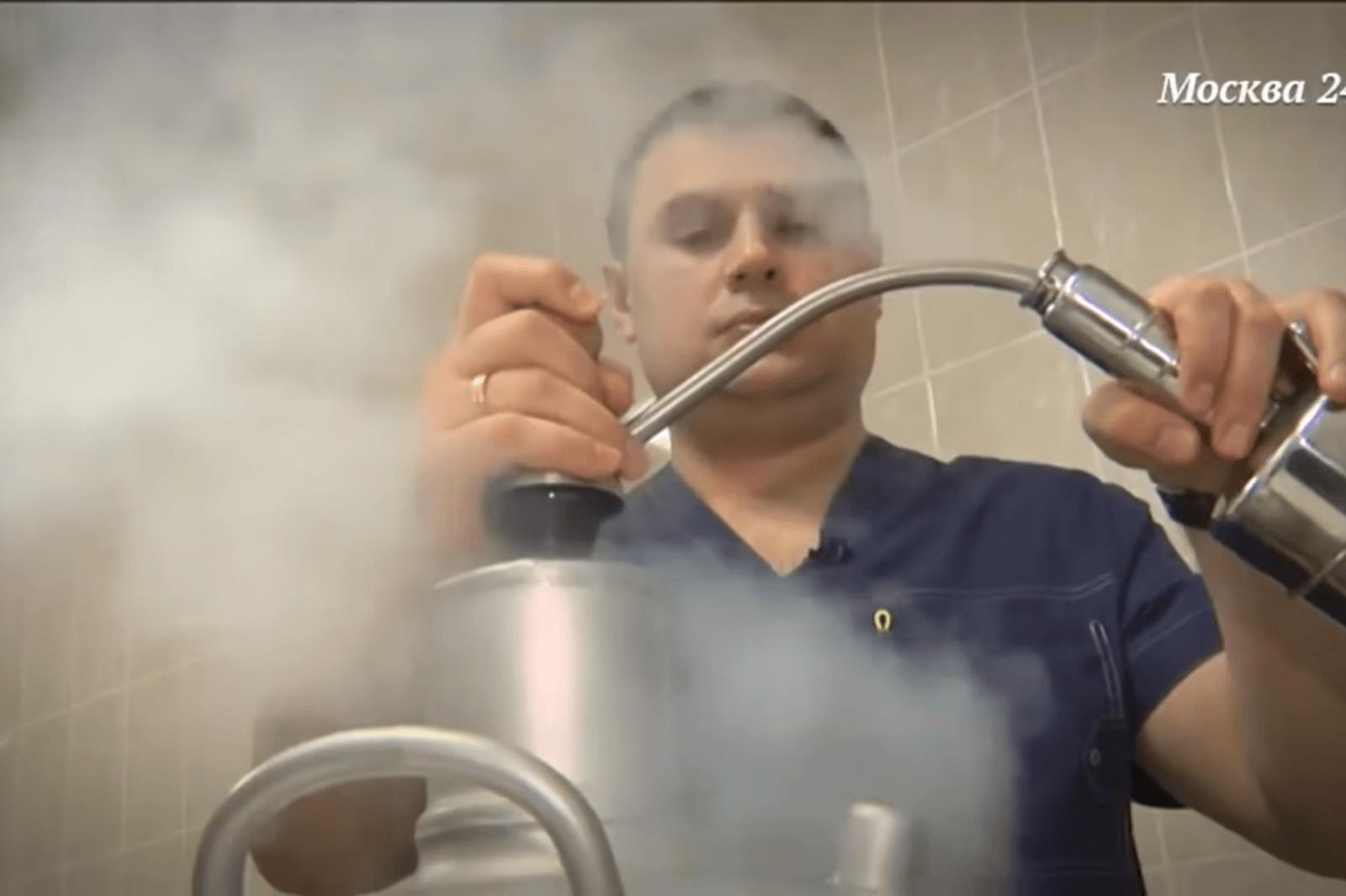 Лечение жидким азотом ангины и хронического тонзиллита